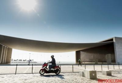 Yamaha NMax: il nostro test a Lisbona