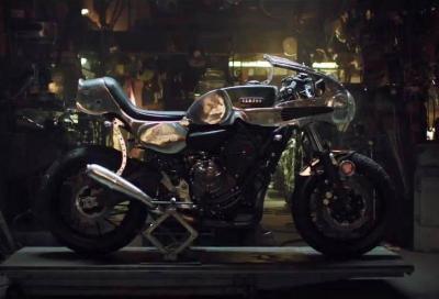 """Special Yamaha: con """"Faster Sons"""" la MT-07 diventa Café Racer"""