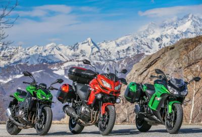 """Kawasaki: promo per le moto con lo stesso """"cuore verde"""" di 1.000 cc"""