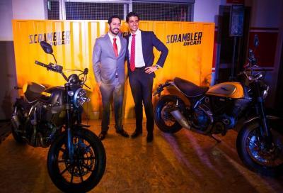 La Scrambler presentata in India nello store Ducati più grande al Mondo
