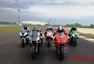 Video comparativa: i 1.000 CV di Aprilia, BMW, Ducati, Kawasaki e Yamaha
