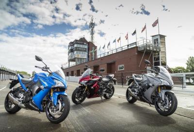 Suzuki: nuovo listino con GSX-S1000F ABS e Inazuma F
