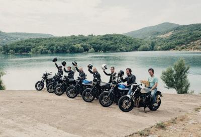 Milano-Biarritz in Yamaha XJR1300: il video del viaggio