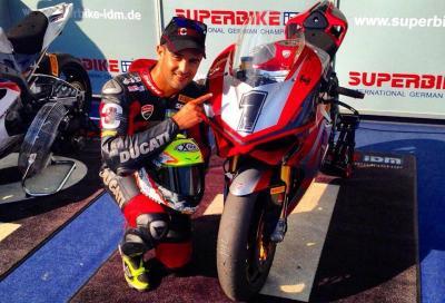 IDM 2015, Hungaroring: vincono Reiterberger (BMW) e Fores (Ducati)