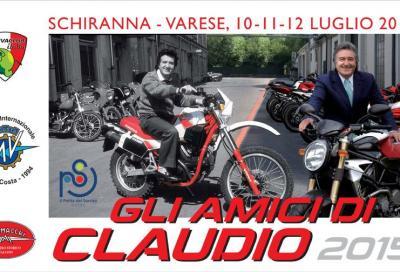 """Raduno MV Agusta, Ducati, Cagiva, Aermacchi, Morini: """"Gli Amici di Claudio 2015"""""""