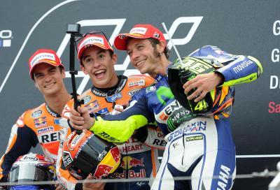 "Rossi: ""Honda imprendibili, l'importante era battere Lorenzo"""