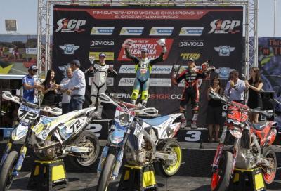 Mondiale Supermoto: in Spagna trionfa Chareyre in S1, in S2 Schmidt campione