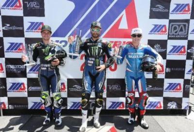Motoamerica 2015: a Laguna Seca Hayes e Beaubier vincitori tristi
