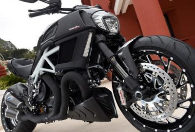 Ducati Diavel: i pacchetti accessori Sport, Touring e Urban