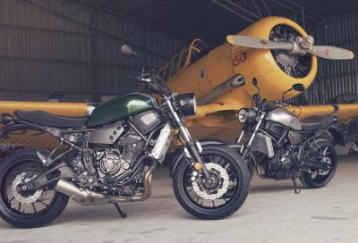 Yamaha XSR700: lo stile retrò incontra la tecnologia della MT-07