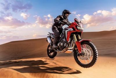 Africa Twin 2016 Top Of The Week