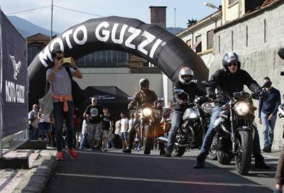 Open House Moto Guzzi 2015: si festeggia a Mandello dall'11 al 13/9