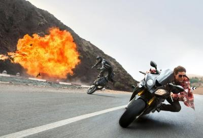 "Il video della BMW S 1000 RR in ""Mission: Impossible-Rogue Nation"""