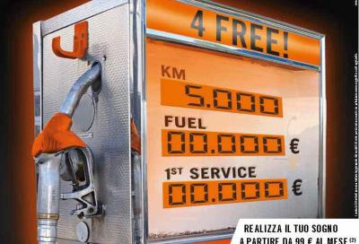 """KTM ti paga la benzina con la Promozione """"4 Free"""" (ma non è l'unica)"""