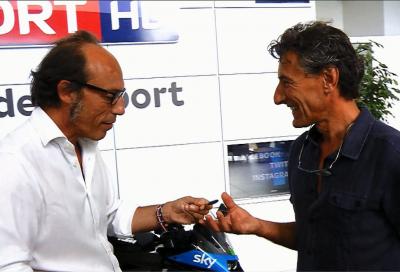 """Concorso Sky-KTM """"Solo per te"""": Guido Meda premia il vincitore"""