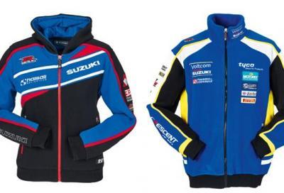 Suzuki: nuova linea di abbigliamento Motorsport Collection 2015