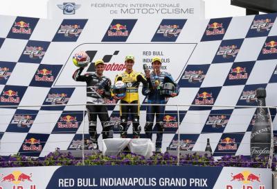 Rins a Indianapolis vince per la prima volta in Moto2