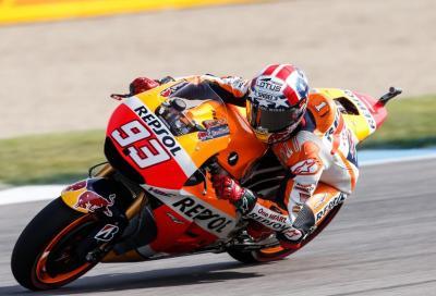 MotoGP Indy: Marquez batte Jorge ed è 1°, Rossi batte Dani ed è 3°