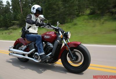 Per gli americani la moto del 2015 è la Indian Scout