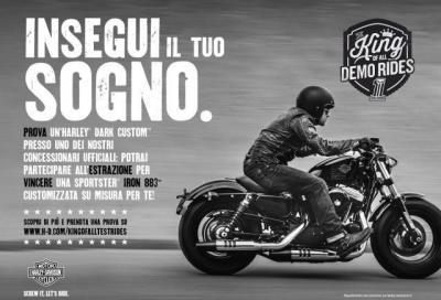 Prova una Harley-Davidson e vinci una Sportster Iron 883