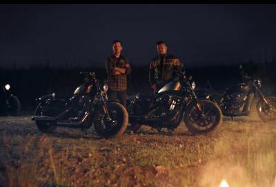 Harley Dark Custom 2016: Iron 883, Forty-Eight e Street 750 in video