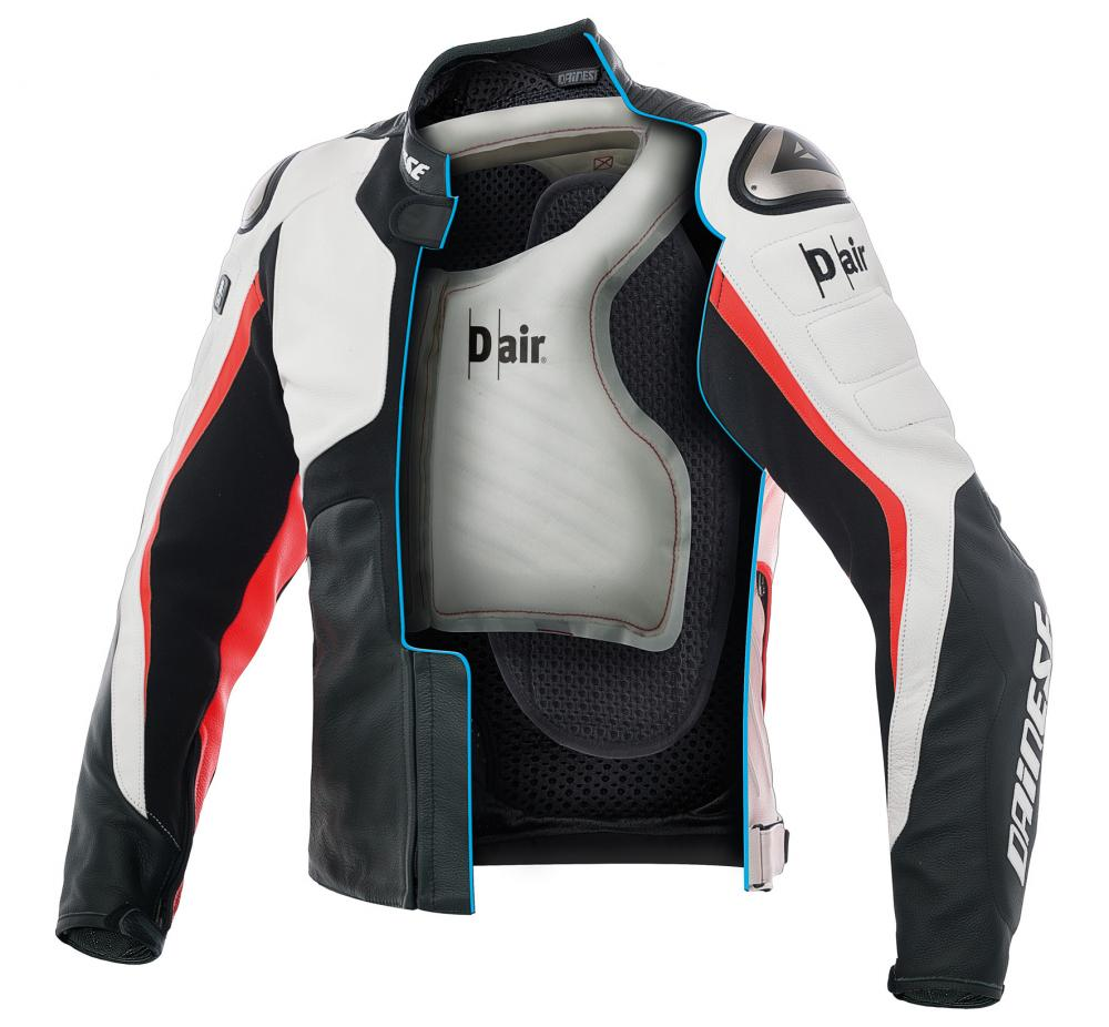 Giacca Misano 1000 D L'airbag Motociclismo In Con Air Pelle Dainese aqESwxtIa