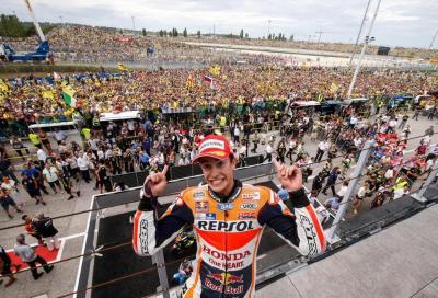 Pazzo GP a Misano: 1° Marquez, Lorenzo KO. Rossi 5°, sempre più leader