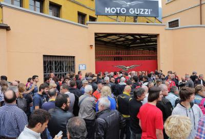 Moto Guzzi Open House 2015: oltre 15.000 appassionati da tutto il mondo