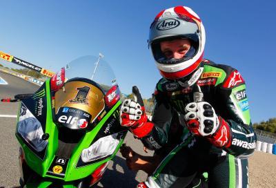 Jonathan Rea Campione del Mondo SBK 2015, la gara di Jerez a Sykes