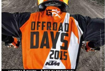 KTM Offroad Days: prova la gamma Cross ed Enduro 2016