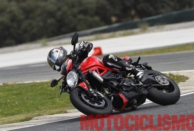 Ducati Monster 1200 R: il nostro video on board in pista