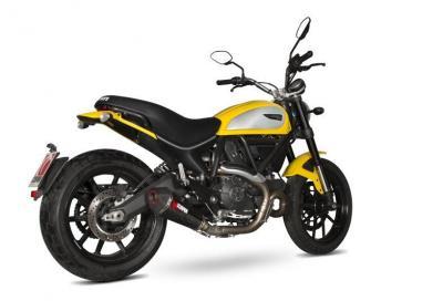 Nuovo scarico Scorpion per la Ducati Scrambler