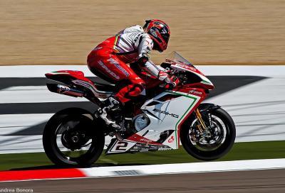 SBK 2016: Melandri tester MV Agusta con uno sguardo... alla MotoGP