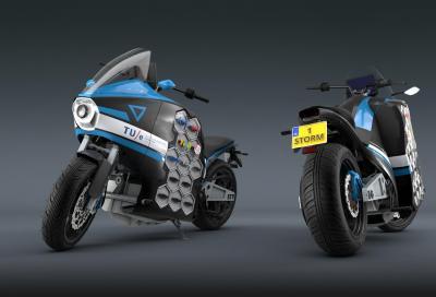 Storm Pulse, la prima moto elettrica da viaggio arriva dall'Olanda