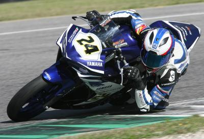 Yamaha R3 nel CIV al Mugello: velocissima al debutto