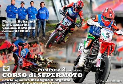 SuperMoto: a lezione dai Campioni della Nazionale Italiana!