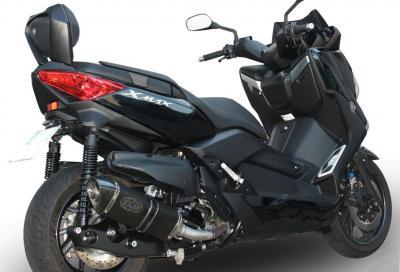 Yamaha X-Max 400: con Exan X-Black meno peso e più voce