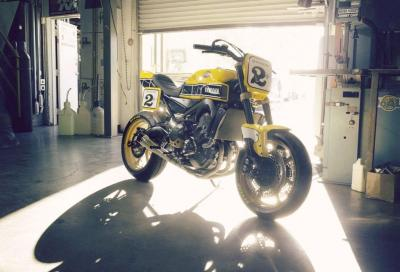 "Yamaha: ""Faster Wasp"", special tre cilindri sportiva by Roland sands"