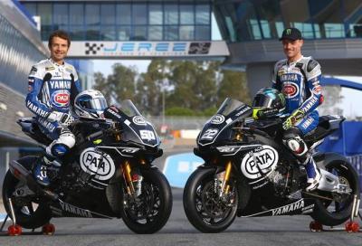 SBK: Yamaha R1 è nata bene, parola di Guintoli e Lowes
