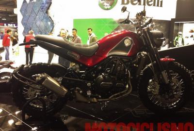 Nuove Benelli 500 cc: la concept Leoncino e la crossover TRK 502 a Eicma