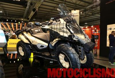 Quadro Big Q: a Eicma il concept off road a 4 ruote