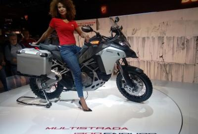 Ducati presenta la nuova Multistrada 1200 Enduro, pensata per l'avventura