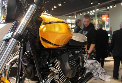 Moto Guzzi V9: un nuovo motore per due nuove custom