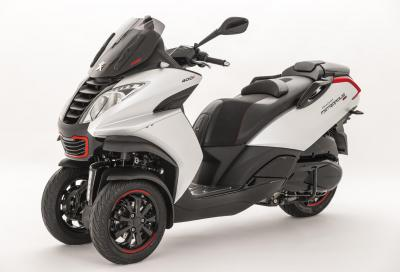 """Peugeot Metropolis RS: nuovo look """"2016"""" per il 3 ruote francese"""