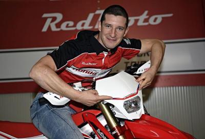 Davide Guarneri: dal Mondiale MXGP all'Enduro con Honda RedMoto