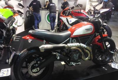 Nuovi scarichi Exan per Scrambler Ducati presentati a Eicma
