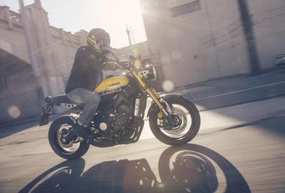 XSR900, la Sport Heritage 3 cilindri di Yamaha in un video