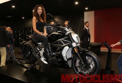 Non è rossa, non è gialla…: è la nera Ducati XDiavel!