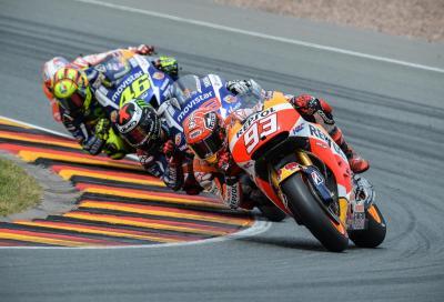 Valentino Rossi vs Marc Marquez vs Jorge Lorenzo