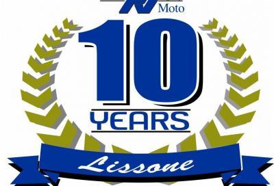 Valli Moto celebra i 10 anni dello showroom Yamaha di Lissone